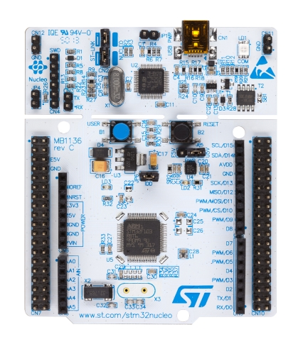 NUCLEO-F103RB - STM32 Nucleo-64 development board with