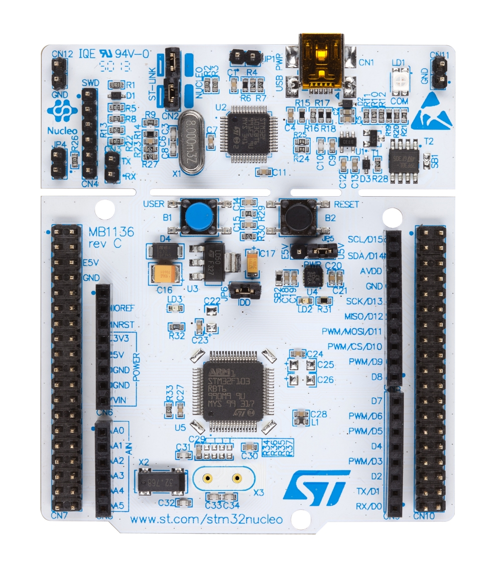 NUCLEO-F030R8 - STM32 Nucleo-64 development board with