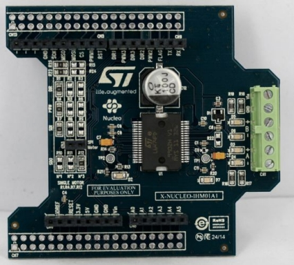 X-NUCLEO-IHM01A1 - Stepper motor driver expansion board