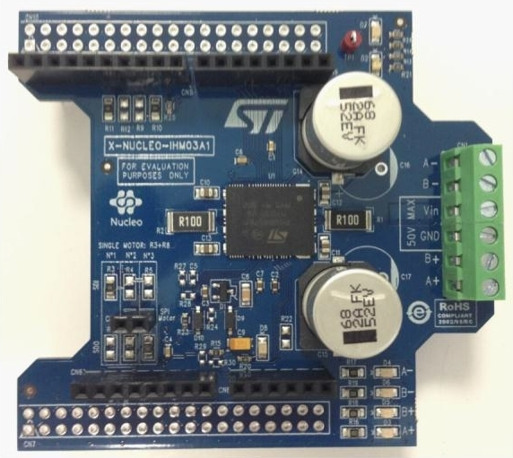 X-NUCLEO-IHM03A1 - High power stepper motor driver expansion
