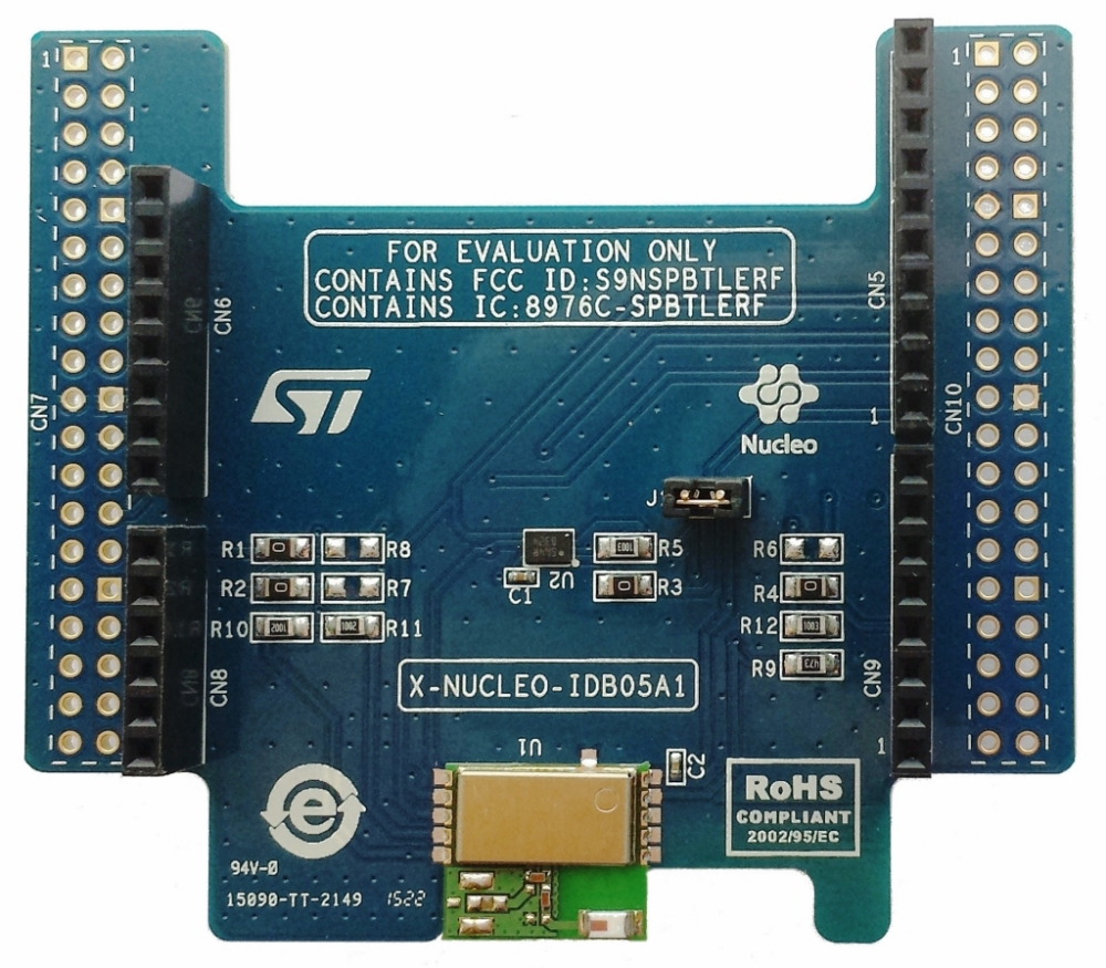 X-NUCLEO-IDB05A1 - Bluetooth Low Energy expansion board