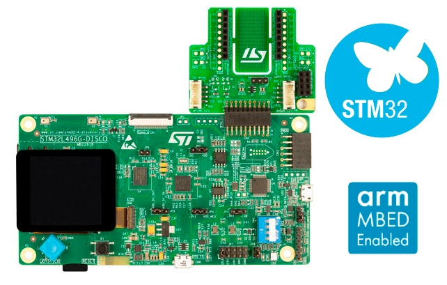 32L496GDISCOVERY - Discovery kit with STM32L496AG MCU
