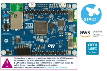 B-L475E-IOT01A - STM32L4 Discovery kit IoT node, low-power