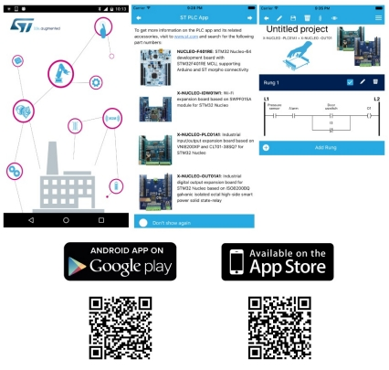 ST-PLC - Programmable logic controller (PLC) app for Android