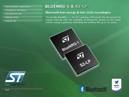STSW-BNRG-S2LP - STSW-BNRG-S2LP evaluation software package