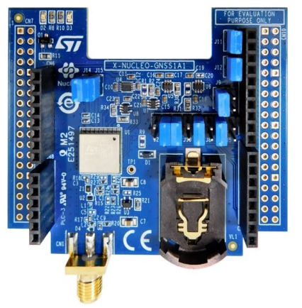 X-NUCLEO-GNSS1A1 - GNSS expansion board based on Teseo-LIV3F