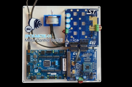 SPC5-MCTK-01 - Motor Control ToolKit for SPC560P and L9907