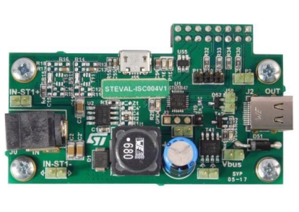 Steval Isc004v1 Stusb4710a Evaluation Board With On Board