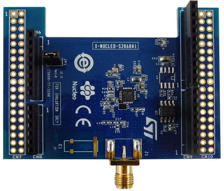 X-NUCLEO-S2868A1 - Sub-1 GHz 868 MHz RF expansion board