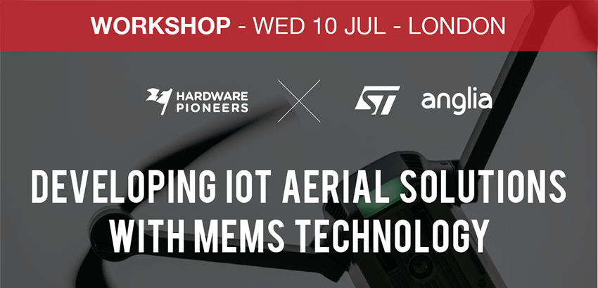 Developing IoT aerial solutions with MEMS technology