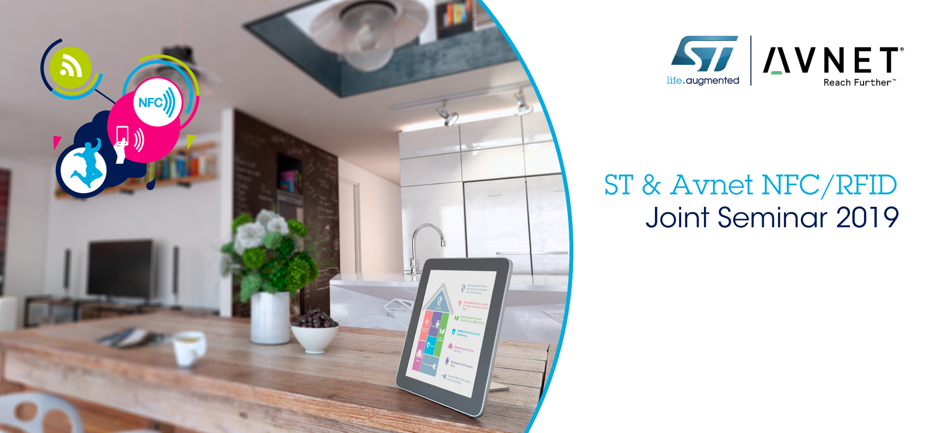 ST and Avnet NFC-RFID Joint Seminar 2019