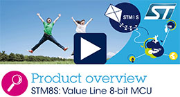 STM8S Value line - 8-bit microcontrollers