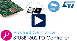 STUSB1602 certified USB power delivery controller