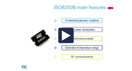 ISO8200B IPS with galvanic isolation