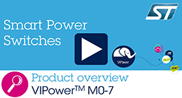 VIPower™ M0-7 Smart Power Switches