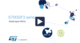 Product overview - STM32F3 Series