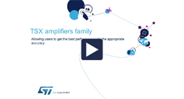TSX amplifiers family
