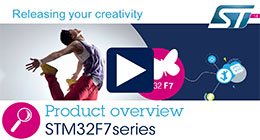 Product overview - STM32F7 Series: High-performance 32-bit microcontrollers