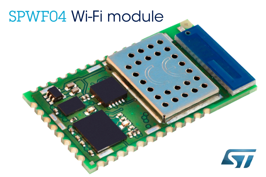 Wi Fi Modules Stmicroelectronics 64 Bit Computer On Module Cloud Compatible Certified Accelerates Your Iot And M2m Development