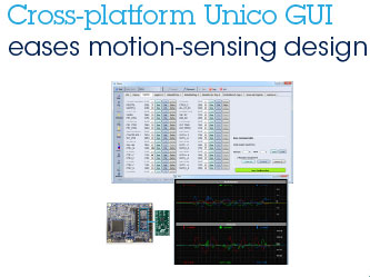 Improved GUI for Advanced Inertial Measurement Unit - STMicroelectronics