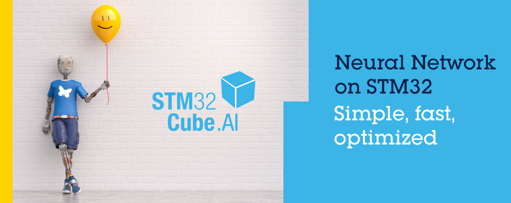 Artificial Neural Networks microcontrollers STM32CubeAI