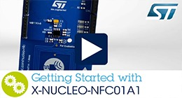Getting started with Dynamic NFC tag expansion board