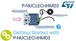 Getting starting with P-NUCLEO-IHM03