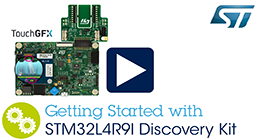 Getting Started with STM32L4+Discovery Kit