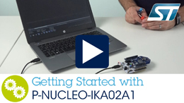 Getting started with STM32 Nucleo glas sensing evaluation pack