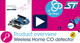 Wireless Home CO detector