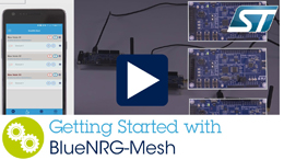 Getting Started with BlueNRG-Mesh