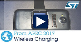 ST at APEC17 Wireless Charging
