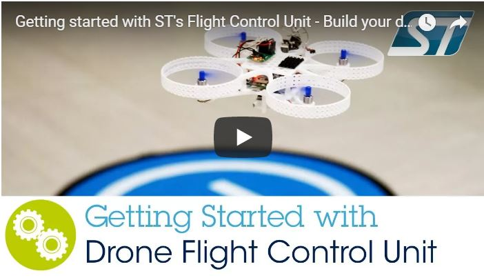 Getting started with Drone Flight Control Unit