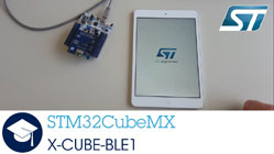 X-CUBE-BLE1 for STM32CubeMX