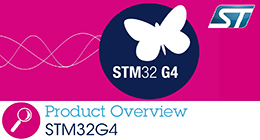 STM32G4 series - Product overview