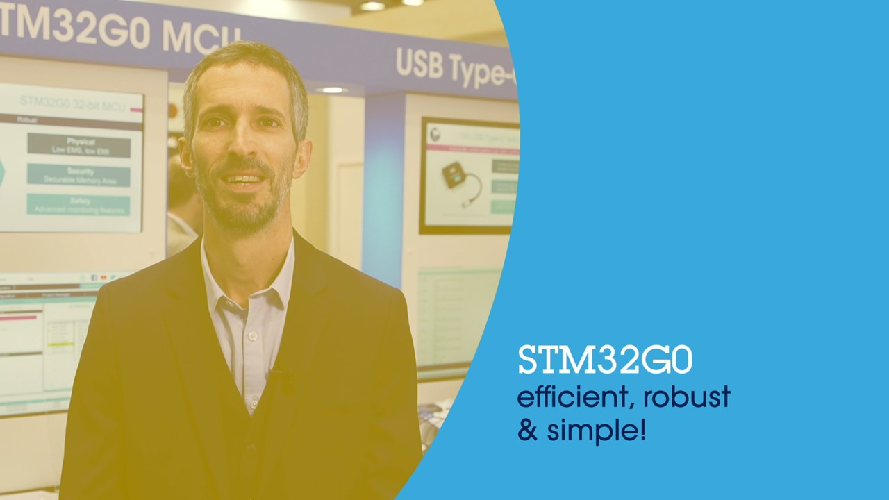 STM32G0 – Efficient, robust & simple!