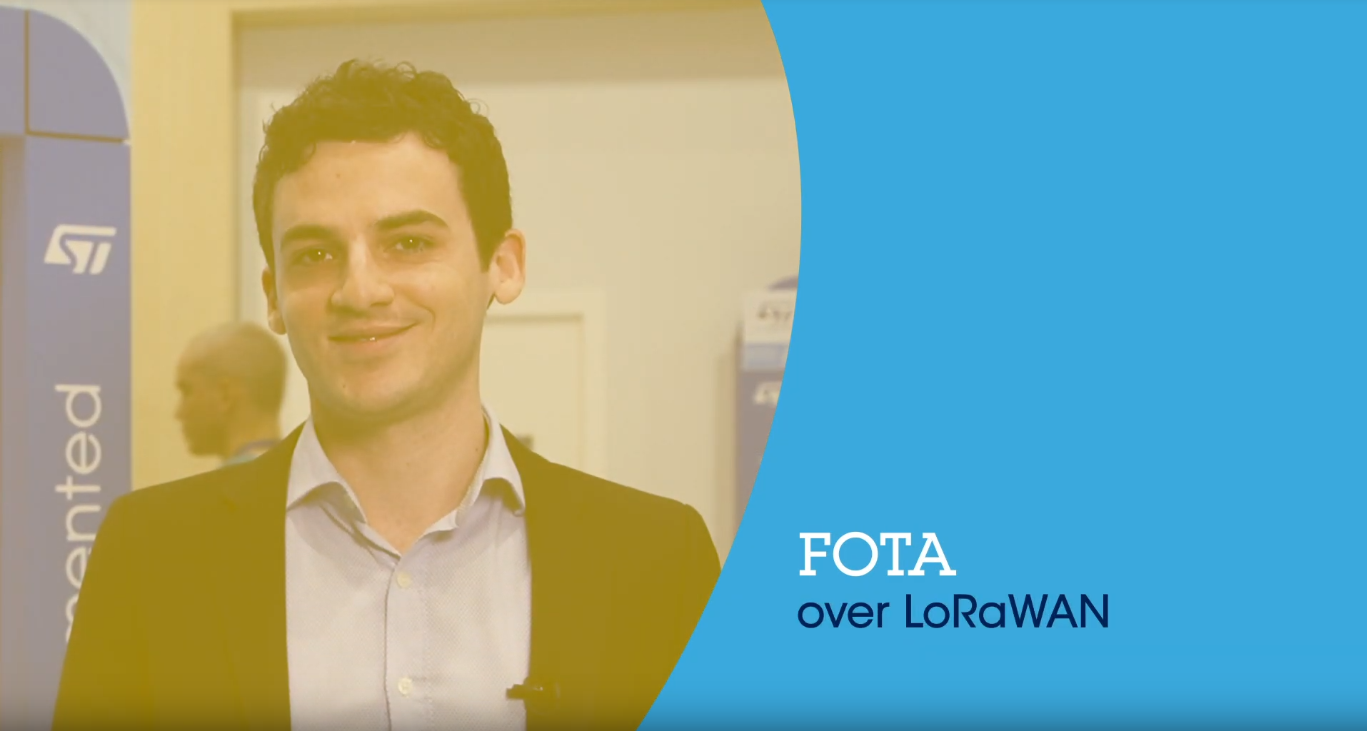 FOTA over LoRaWAN with STM32 and Actility Reliable Multicast Server (embedded world 2019)
