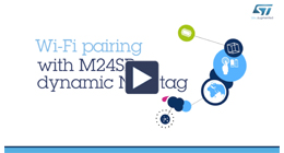 WiFI pairing with NFC Dynamic tag