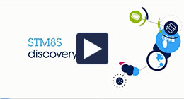 Getting started with STM8S Discovery