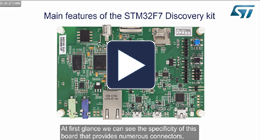 Getting started with STM32F746 discovery kit