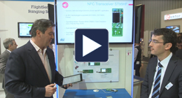 EW 2015 show - NFC Transceiver IC demo