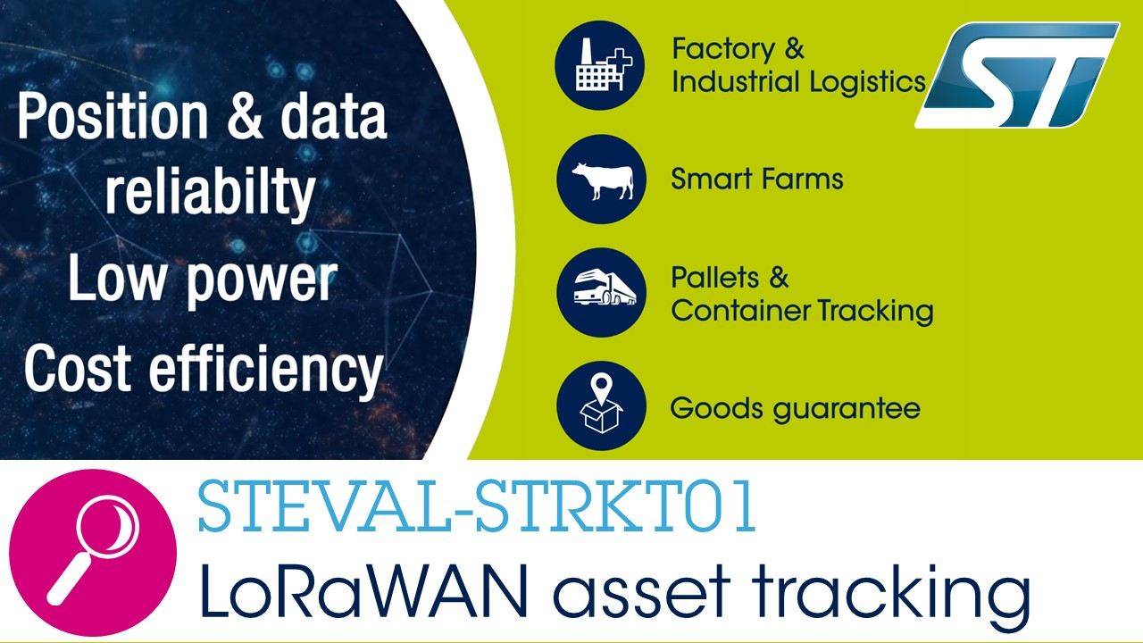 STEVAL-STRKT01: IoT traker solution over LoRaWAN