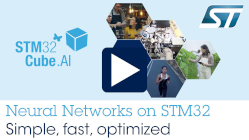 Artificial Neural Network mapping made simple with the STM32Cube.AI