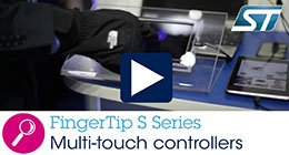 FingerTip S Series - Multi-touch controllers with advanced features