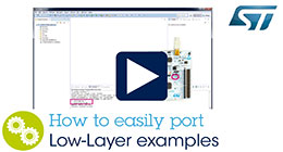 How to easily port Low-Layer examples