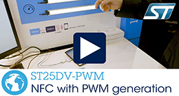 ST25DV-PWM series: NFC with PWM Generation