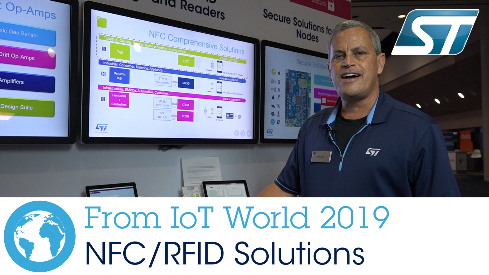 From IoT World 2019