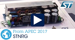 APEC 2017 - Digital power control with STNRGPF01