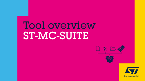 Product overview - ST-MC-SUITE