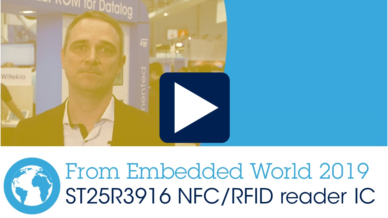 ST25 NFC / RFID Readers - STMicroelectronics